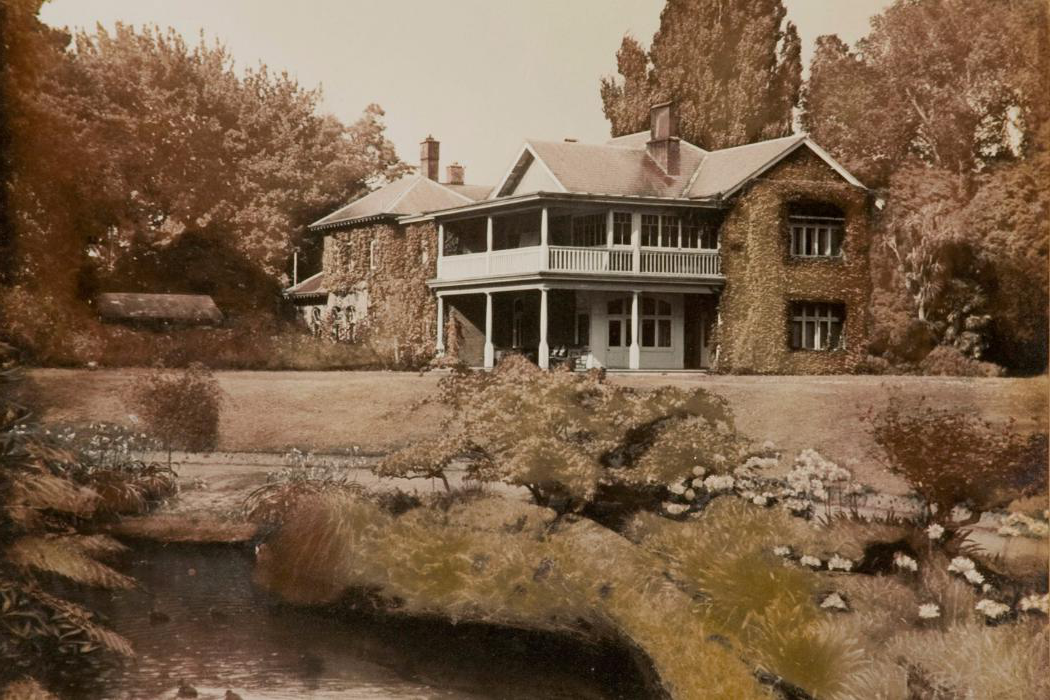 Ilam homestead photograph 1920s
